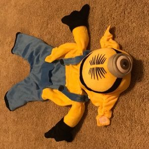 Despicable me halloween dog costume